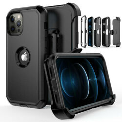 Kyпить For iPhone 12 Pro 12 Mini 12 Pro Max Shockproof Defender Case Cover+Belt Clip на еВаy.соm