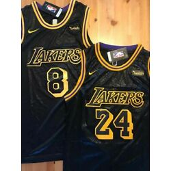 Kyпить Kobe Bryant #24 or #8 Black Mamba Men's/Youth Stitched Los Angeles Lakers Jersey на еВаy.соm