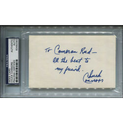 Kyпить CHUCK CONNORS - AUTOGRAPH NOTE SIGNED на еВаy.соm