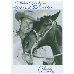 Kyпить CHUCK CONNORS - INSCRIBED PHOTOGRAPH SIGNED на еВаy.соm