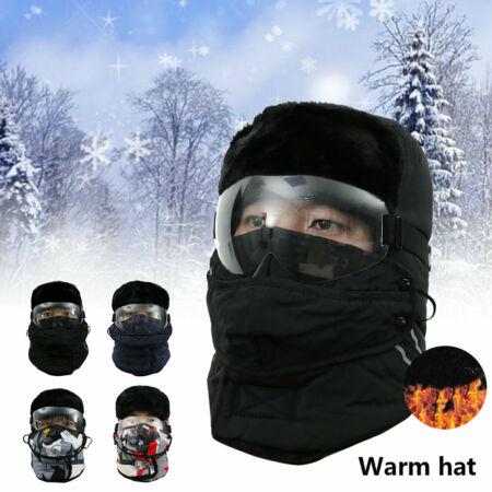 img-Ski Cap ear Protection Cap Trapper Trooper Hat Winter Windproof, Cold And Warm