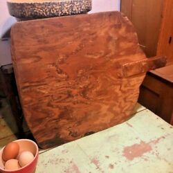 Kyпить Large Vintage Hand made French Bread Board Wood Cutting Board Charcuterie FOLK на еВаy.соm