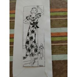 Kyпить Antique Sewing Pattern -Ladies Dress #9511 на еВаy.соm