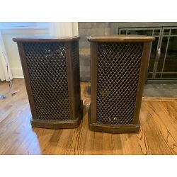 Kyпить Rare Sansui SF-2 Stereo Speakers Omnidirectional Vintage Working на еВаy.соm