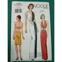 Kyпить Vogue Sewing Pattern 7452 - Size 8-10-12 - Uncut на еВаy.соm