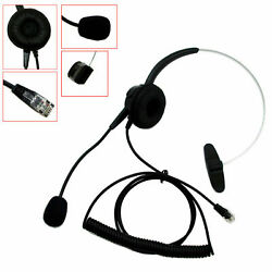 Telephone Headsets For Orchid Packet8 Phones Safecom ShoreTel Phone Siemens/ROLM