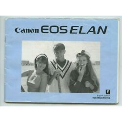 Kyпить Canon EOS ELAN 35mm film camera instruction manual 80 pages/1991 на еВаy.соm