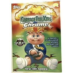 Kyпить 2020 Topps Garbage Pail Kids Chrome Series 3 Blaster Box- SEALED! IN HAND!! на еВаy.соm
