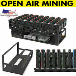 Bench Press Barbell Rack Adjustable Weight Folding Squat Fitness Gym Training