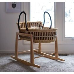 Kyпить Moses Basket STAND- Rocking Stand - Brand New in Box - Solid Pine - BabaTree на еВаy.соm