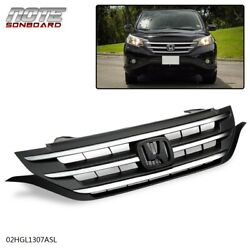FIT FOR CRV CR-V 2012 2013 2014 FRONT HOOD BUMPER ABS PLASTIC GRILLE GRILL