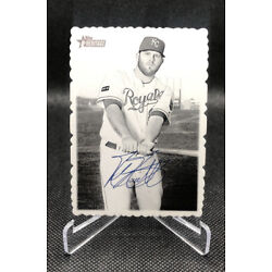 2018 Topps Heritage Deckle Edge #14 Mike Moustakas Kansas City Royals