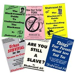 Kyпить All 6 Books By Shahrazad Ali YOU ARE BUYING DIRECTLY FROM THE AUTHOR!!! на еВаy.соm