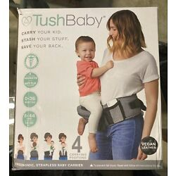 Kyпить TushBaby Safety Certified Hip Seat Baby Carrier Vegan Leather New in Box на еВаy.соm