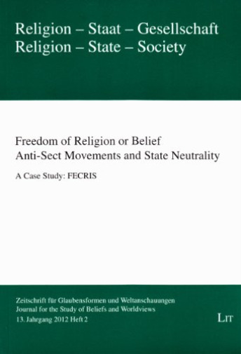 GroßbritannienFreedom of Religion or Belief: Anti-Sect s and State Neutra... BOOK NEU