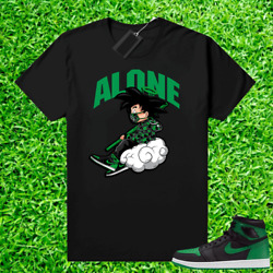 Kyпить Pine Green 1s shirt Black – Alone на еВаy.соm