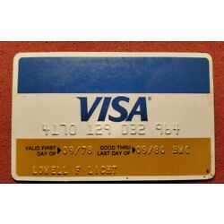 Kyпить Visa exp 1980♡Free Shipping♡cc590♡credit card на еВаy.соm