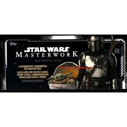 Kyпить 2020 Topps Star Wars Masterwork Factory Sealed Hobby Box на еВаy.соm