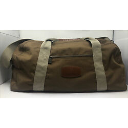 Kyпить Boeing Brown Shoulder Canvas Duffle Bag Large By North West на еВаy.соm