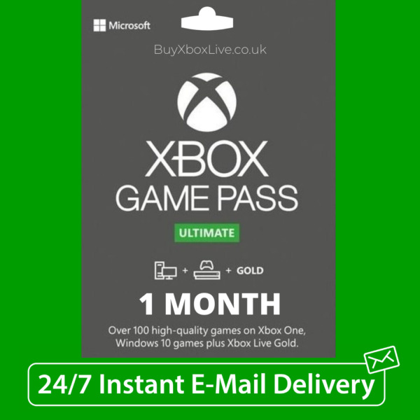 GroßbritannienXbox Live 1 Month Gold + Game Pass Ultimate (2 x 14 Day Pass) - INSTANT DELIVERY