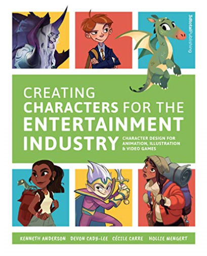 Großbritannien Anderson-Creating Characters For The Entertainment Industry BOOKH NEU