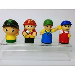 Kyпить Mega Bloks People Figures Fireman, 2x Different John Deere Guys, Worker Guy на еВаy.соm