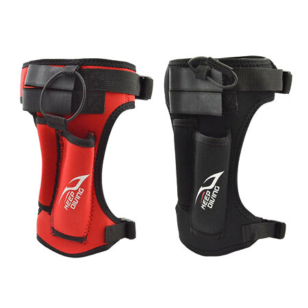 img-Adjustable Diving Knife Holder Sheath with Leg Arm Strap Calf Diver Accessories