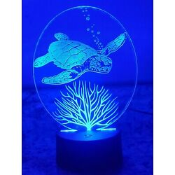 Kyпить Sea Turtle Led Light (7 color changing with remote) на еВаy.соm
