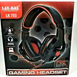 LAX-MAX New Generation LK 703 Gaming Headset, PS4/ PS4 PRO, XBOX ONE, SWITCH, PC