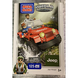 Kyпить MEGA BLOKS World Builders 97803 Jeep Wrangler 125 Pieces incl 2 figures 2014 NEW на еВаy.соm