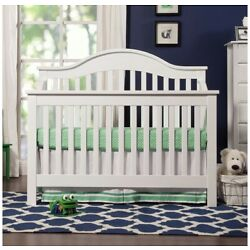 Kyпить Used DaVinci Jayden 4-in-1 Convertible Crib - White на еВаy.соm