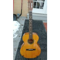 Kyпить Rare Kay N-3 Flat top Acoustic Guitar Spruce Good Condition Vintage w/case на еВаy.соm