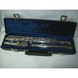 Kyпить Gemeinhardt Model M3 Intermediate Flute - Silver Plated - Ex Working Cond w/Case на еВаy.соm