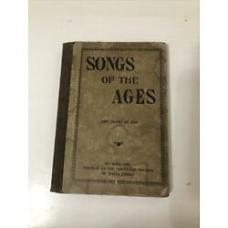Kyпить 1899 Hymnal Songs of the Ages WT Wiley Pittsburgh, PA Hardcover на еВаy.соm