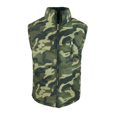 img-Jacket Mens Quilted Jacket Sleeveless Military Camouflage Casual Vest M To 3XL