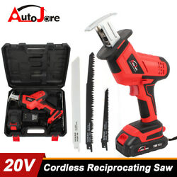 Kyпить  Cordless Reciprocating saw kit with battery and charger tool set blades cutting на еВаy.соm