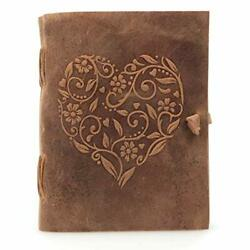 Kyпить Genuine Leather Journal for Women - Beautiful Handmade Leather Bound Notebook wi на еВаy.соm