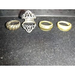 Kyпить Relios carolyn pollack Sterling Ring Guard, 1 Silver Ring Insert And 2 Brass... на еВаy.соm