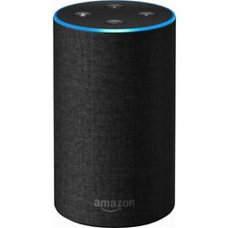 Amazon Echo Smart speaker with Alexa and Dolby Processing - Charcoal 2nd Gen