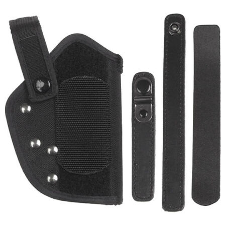 img-TACTICAL GERMAN WALTHER P38 P1 PISTOL BELT HOLSTER SECURITY CARRIER NYLON BLACK