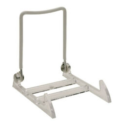 Gibson Holders 3PL Display Stand with Clear Base, Large, White, 12-Pack
