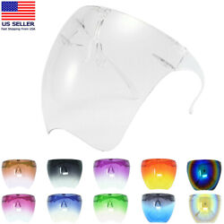 Kyпить Clear Face Shield Glasses Face Mask Transparent Reusable Visor Anti-Fog Dust USA на еВаy.соm