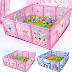Kyпить 47.2*47.2in Foldable Baby Playpen Kids Safety Play Center Yard Home Pen Fence US на еВаy.соm