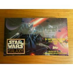 Kyпить 1993 Topps Star Wars Galaxy Series 1 One Sealed Box 36 Packs Trading Cards на еВаy.соm