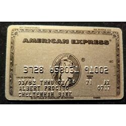 Kyпить American Express Gold Credit Card exp 1971 ♡Free Shipping♡cc411 на еВаy.соm