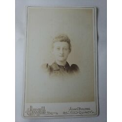 Kyпить Victorian Antique Cabinet Card Photo of Young Woman Name Mabel L Dyer? Date1892  на еВаy.соm