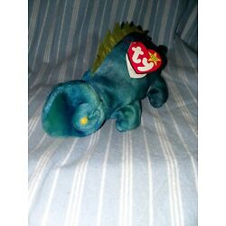 Kyпить Ty Beanie Baby Collection 1997  Iggy great shape!  на еВаy.соm