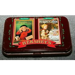 Kyпить Hershey's Chocolate Playing Cards Original Tin Ltd Edition #031468 на еВаy.соm