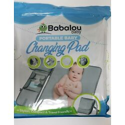 Kyпить Babalou Baby Portable Waterproof Changing Pad Compact Travel Pockets Strap на еВаy.соm