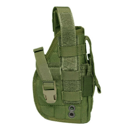 img-Flyye Military Tactical Pistol Holster MOLLE Webbing Right Handed Olive Drab OD